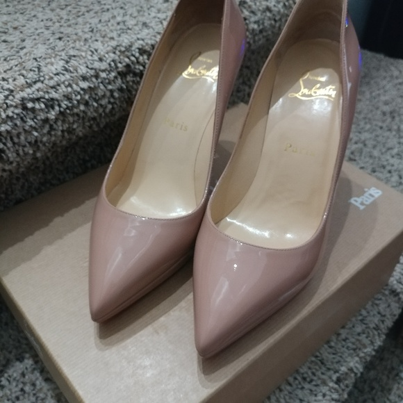 new product 1dfdf 78f22 Chrisrian Louboutin Pigalle Plato 100mm